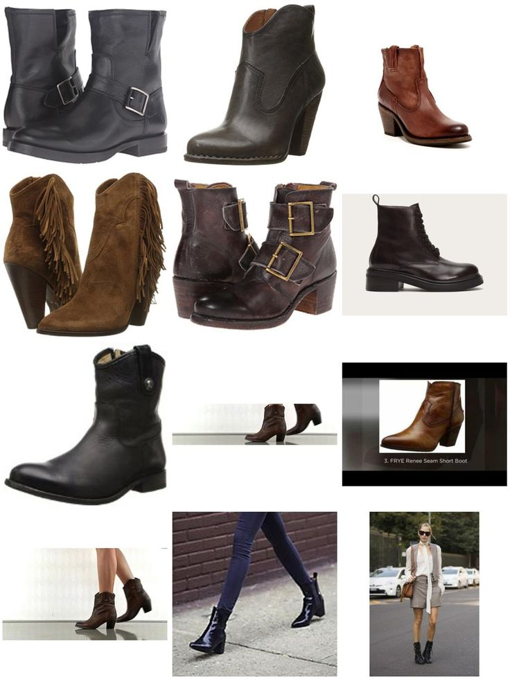 """New Frye Ankle Boots for Women - 2016 Best Picks  Love the new styles shown here!  The 2016 """"newbies"""" are going to steal some hearts (including mine)."""