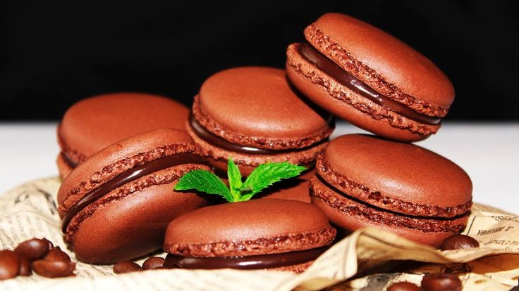 CHOCOLATE COFFEE MACARONS ♥ The Easiest Recipe ♥ Tasty Cooking