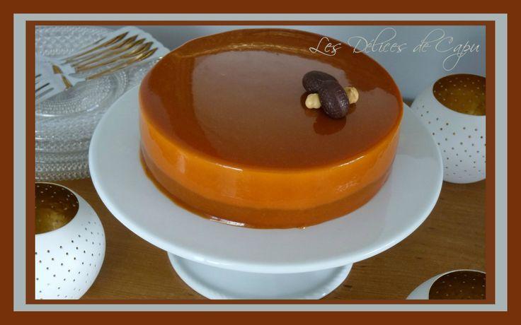 Entremets vanille caramel4
