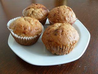 Nalehko...: Banánové muffiny (co nikdy nezklamou)