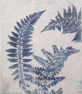 Linda Germain | Great Detail prints with the gelatin plate