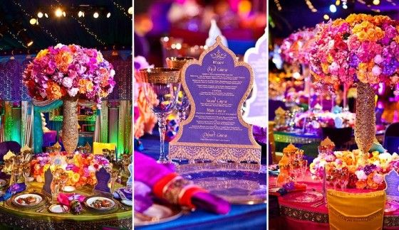 Real-Life Fairy Tale Wedding: An Aladdin and Jasmine Disney Wedding