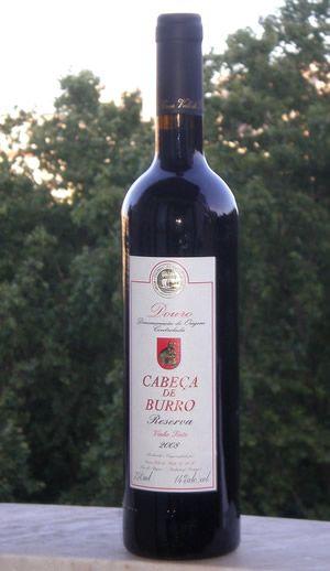 Cabeça de Burro - Não é bom tomar muito...mexe com a sua cabeça - Saiba mais sobre nomes estranhos de vinhos portugueses em http://viagensecuriosidades.com/nomes-estranhos-de-vinhos-portugueses/ #vinhos