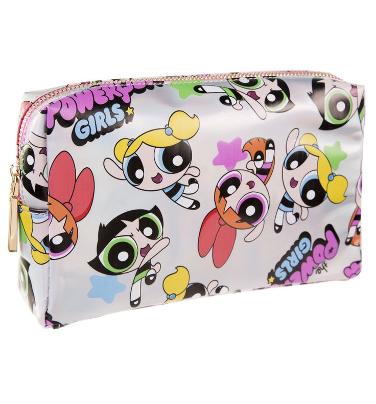 Powerpuff Girls All Over Print Wash Bag A set of seriously badass (and also adorably girly) chicks, who made a welcome addition to Cartoon Networks lineup back in 1998 will make them an even bigger welcome to our collection of make-up bags! http://www.MightGet.com/may-2017-1/unbranded-powerpuff-girls-all-over-print-wash-bag.asp