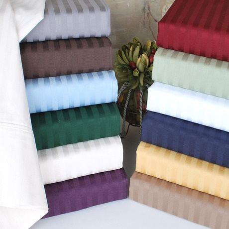 Ultra Soft Embossed Dobby Striped Sheet Set - Save 76% only $24