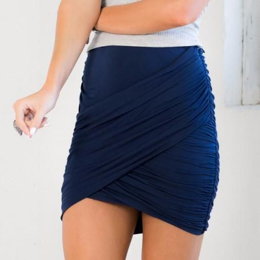 High Waist Short Mini Pencil Skirt - CELEBRITYSTYLEFASHION.COM.AU - 3