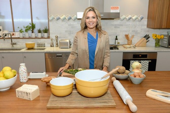 Cat Cora showed us some of her creative side with a kitchen design from our SFLY by Design event #SFLYbydesign
