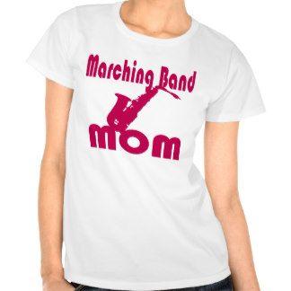 Marching Band Mom Saxophone T-shirt