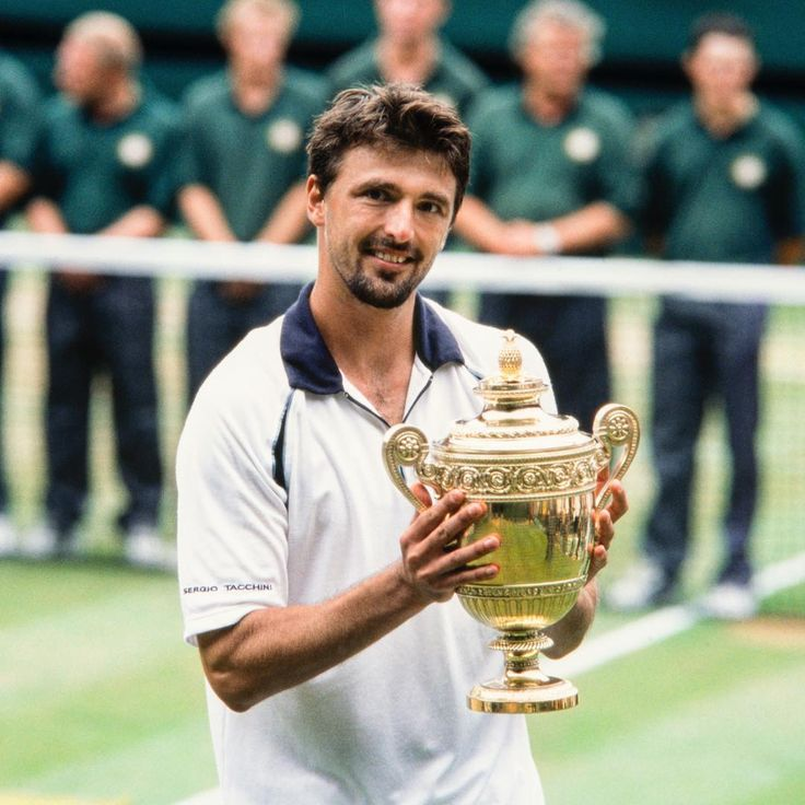 Goran Ivanisevic, our one and only wild card singles champion, is celebrating his birthday today 🎉 . #wimbledon #sport #instasport #tennis