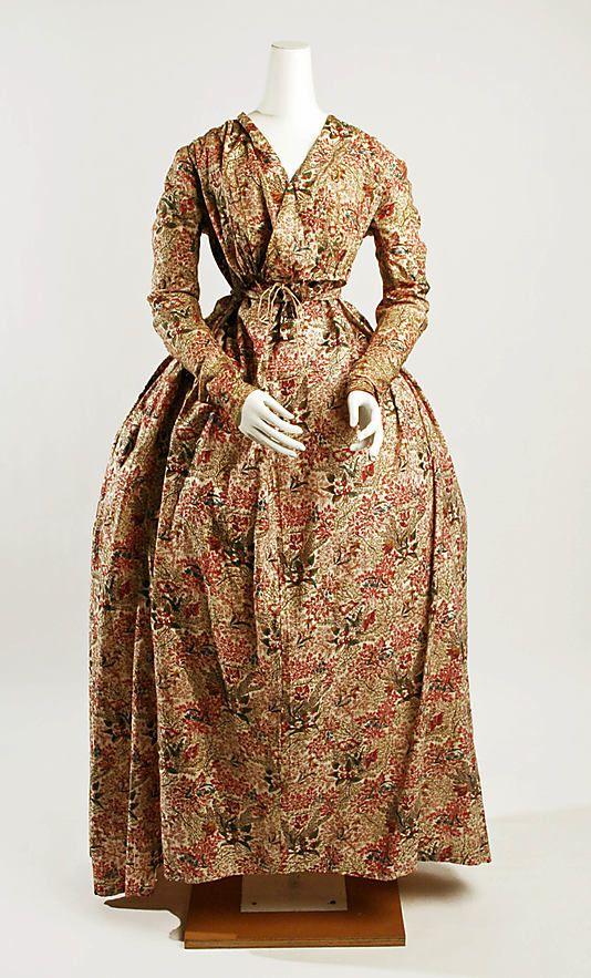 Dress Date: 1795–1800 Culture: British Medium: cotton, linen
