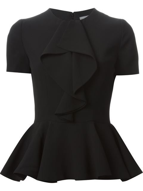Shop Alexander McQueen peplum top in Boutique Mantovani from the world's best independent boutiques at farfetch.com. Over 1000 designers from 300 boutiques in one website.