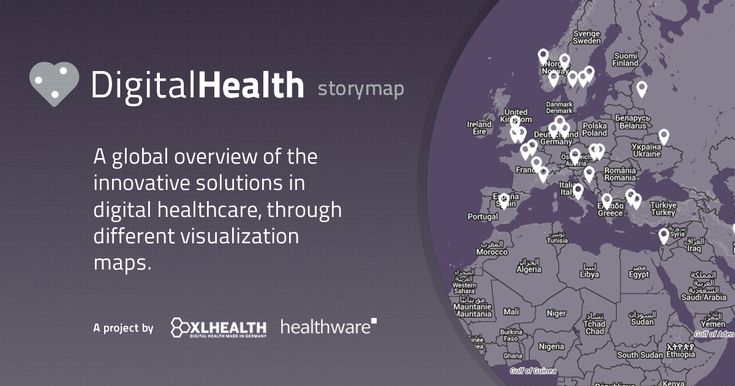Digitalhealthstorymap.com - consumer-centric Digital Health solutions.