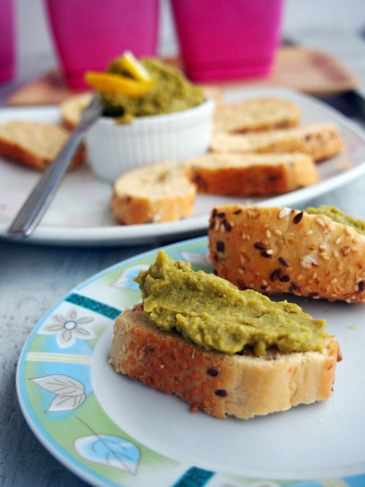 Guacamole z zielonego groszku