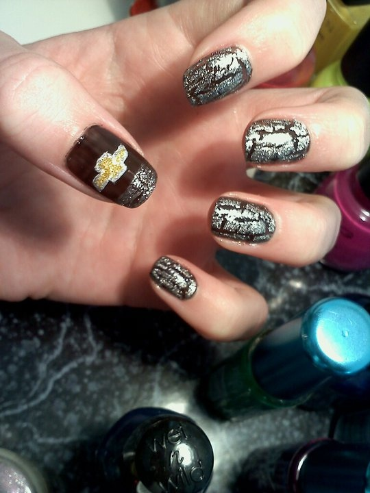 Chevrolet Crackle Nails, Great for girls who looooove cars