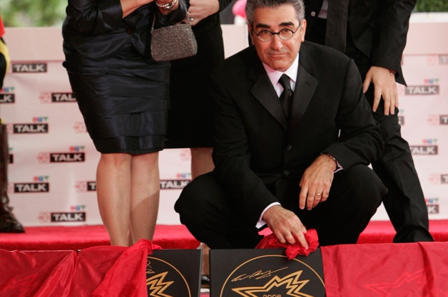 Eugene Levy ) is a Canadian actor, comedian, and writer. He is known for his work in Canadian television series, American movies, and television movies. He is the only actor to have appeared in all eight of the American Pie films, as Noah Levenstein. Levy was appointed to the Order of Canada on June 30, 2011