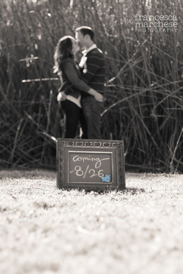 Pregnancy announcement and gender reveal - Francesca Marchese Photography | See more