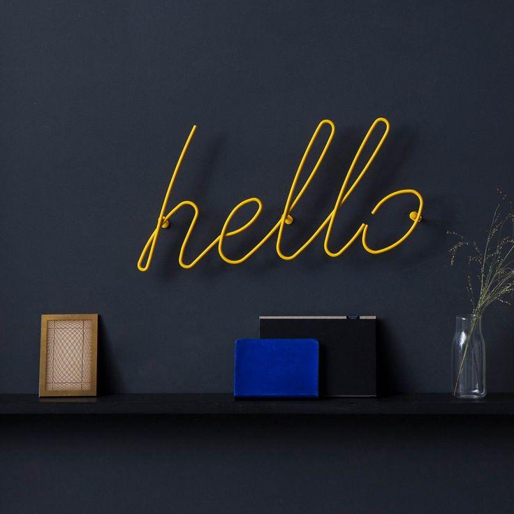 Hello Garderobe - Gelb