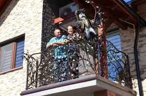 Balustrad na balkon wzór 21