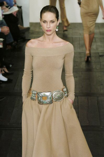 Ralph Lauren Fall 2004.....ten years later, and timeless. Love this look but would have to have a different color...