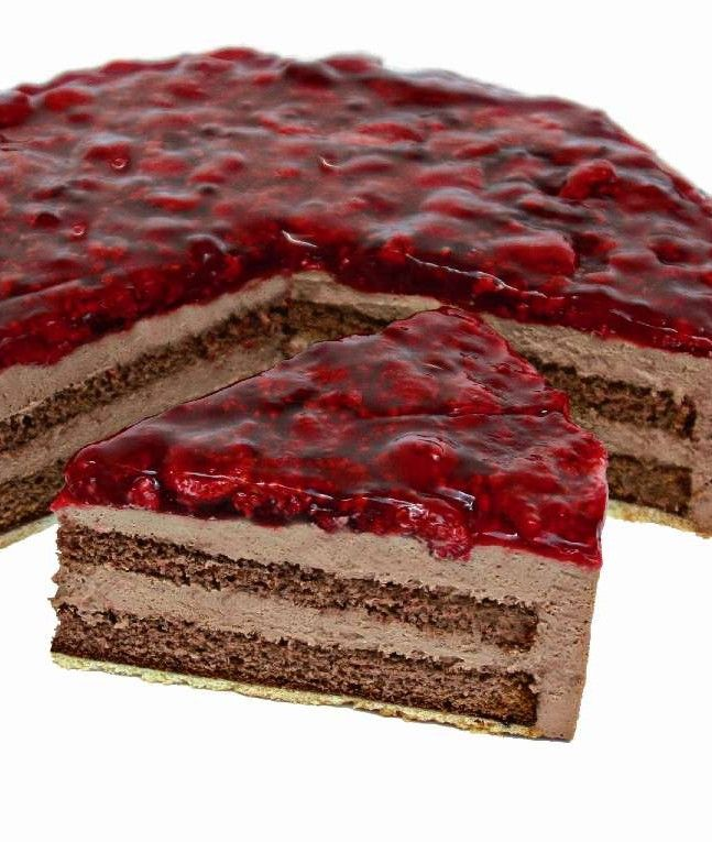 himbeer schokoladen sahnetorte