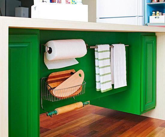 Si tu hogar tiene habitaciones de tamaño reducido y sueles chocarte con todos los muebles cuando caminas, ¡estas ideas te vendrán muy bien!Con estas pequeñas soluciones podrás ahorrar espacio en tu hogar y parecerá más grande de lo que es.¿Lista para verlas? ¡Adelante!1. Accesorios debajo de la mesada de