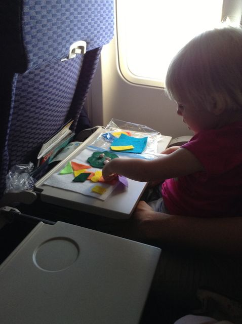 Anne's Odds and Ends: Traveling with a Toddler - Airplane Activity Kits