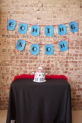 """Photo 3 of 11: Movie & Popcorn / Baby Shower/Sip & See """"Ready to Pop/Coming Soon"""" 