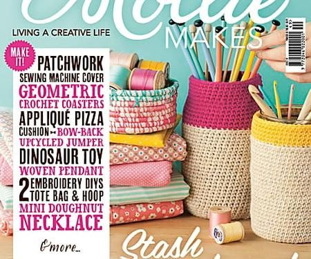 Mollie Makes issue 49 templates