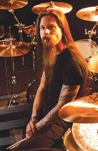 Lamb of God he is the best drummer ever!