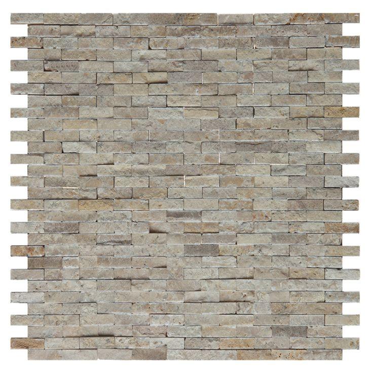Mozaika kamienna Zen - Dunin - Travertine Brick