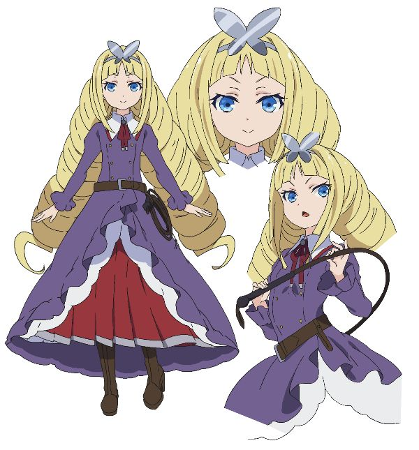 Chocka U Baragasaki | TV Anime Busou Shoujo Machiavellism (Armed Girls Machiavellism)