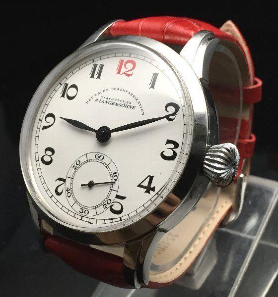 OH済【LANGE&SOHNE - ランゲ&ゾーネ】 アンティークバックスケルトンメンズ腕時計 8 - アンティーク腕時計のfreemen~オメガやロンジン等の腕時計通販販売