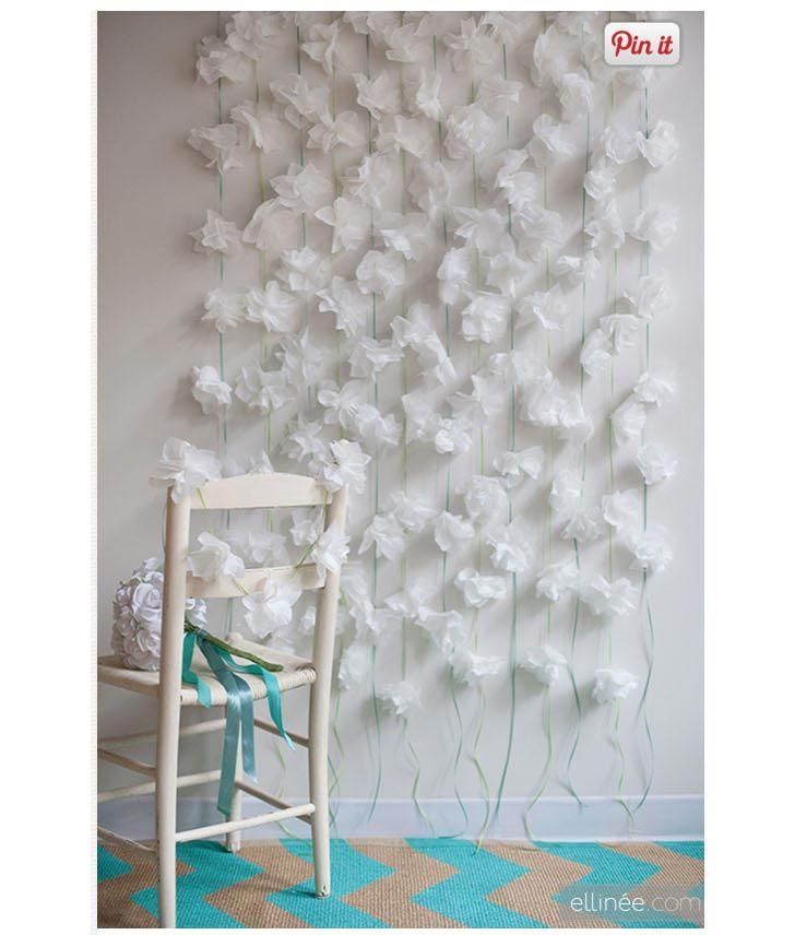 ティッシュで作るオリジナル装飾アイテム   結婚式 DIY&ハンドメイド作り方