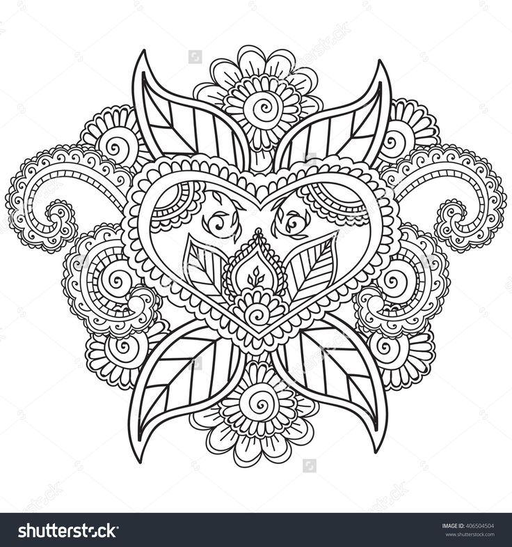 Henna Animals Coloring Pages : Best more coloring images on pinterest