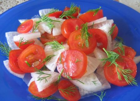 Салат из редьки с помидорами черри. Рецепт приготовления блюда