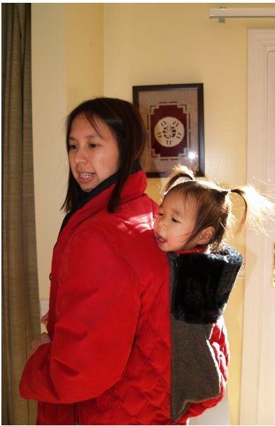 Beltway Babywearers: Cold Weather Wearing: DIY Babywearing coat