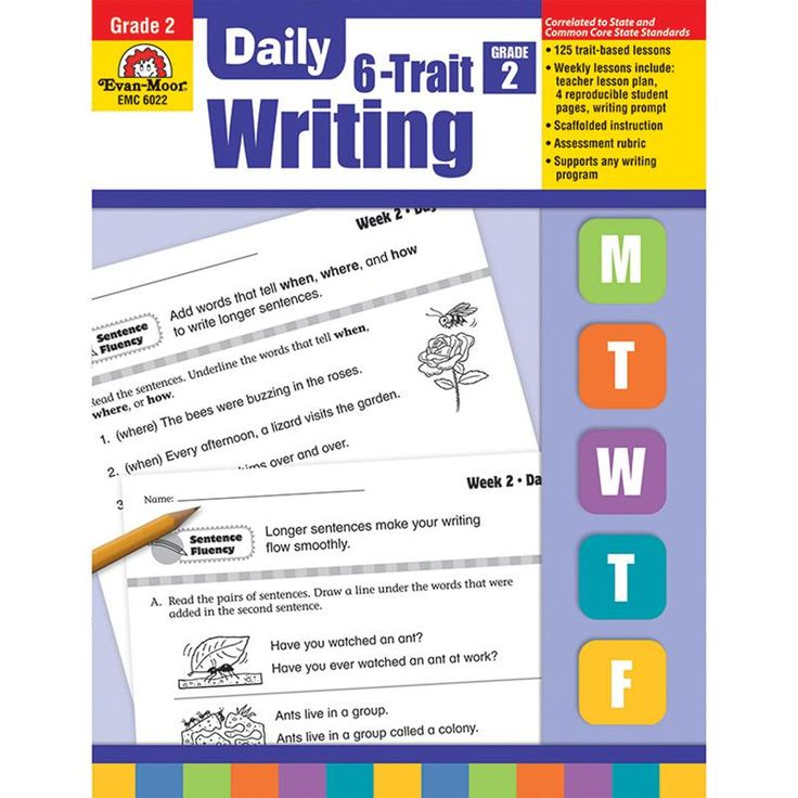 6 trait writing Our evan-moor daily 6-trait writing workbook for grade 6 will help your students develop important writing skills that will benefit them in all aspects of learning.