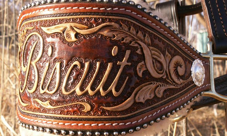Custom Leather Bronc Halters For Horses - COWGIRL Magazine