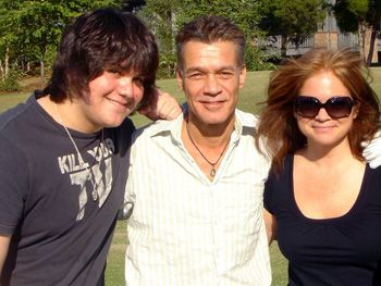 Valerie Bertinelli and Wolfgang