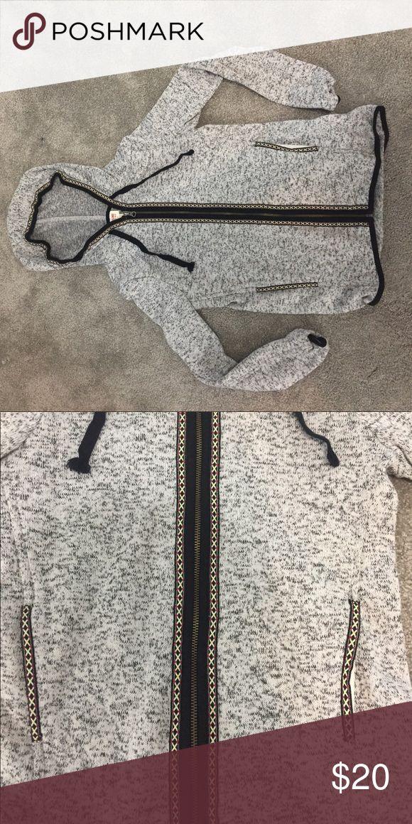 Zip up tribal Aztec hoodie Zip up tribal Aztec hoodie. Very warm and comfortable. Soft interior Tops Sweatshirts & Hoodies