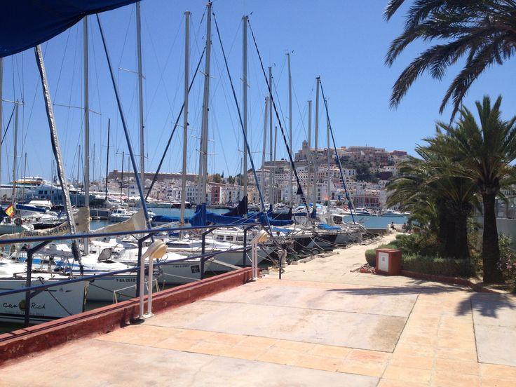 Club Nautico de Ibiza en Ibiza, Islas Baleares #barcoibiza #rental #boats #sailing #holidays #travel #ibiza #formentera #event #planning #wedding