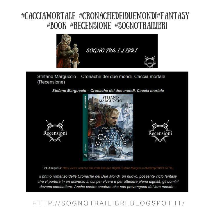 Disponibile sul blog Sogno tra i libri una nuova #recensione di Caccia Mortale 📝 Ringrazio Aleksandar Doynov per la condivisione 🔝