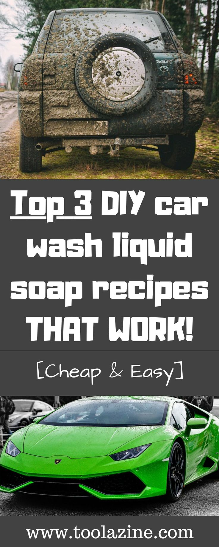 Top 3 DIY car wash liquid soap recipes THAT WORK [Cheap