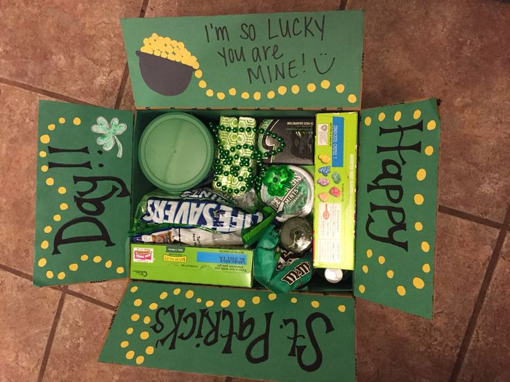 Happy St. Patrick's Day care package