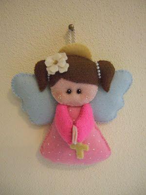 angelo custode in pannolenci