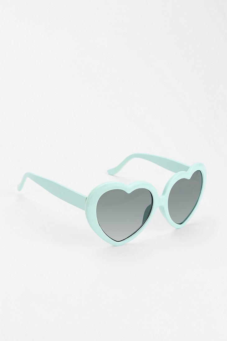 Mint Sweetheart Sunglasses