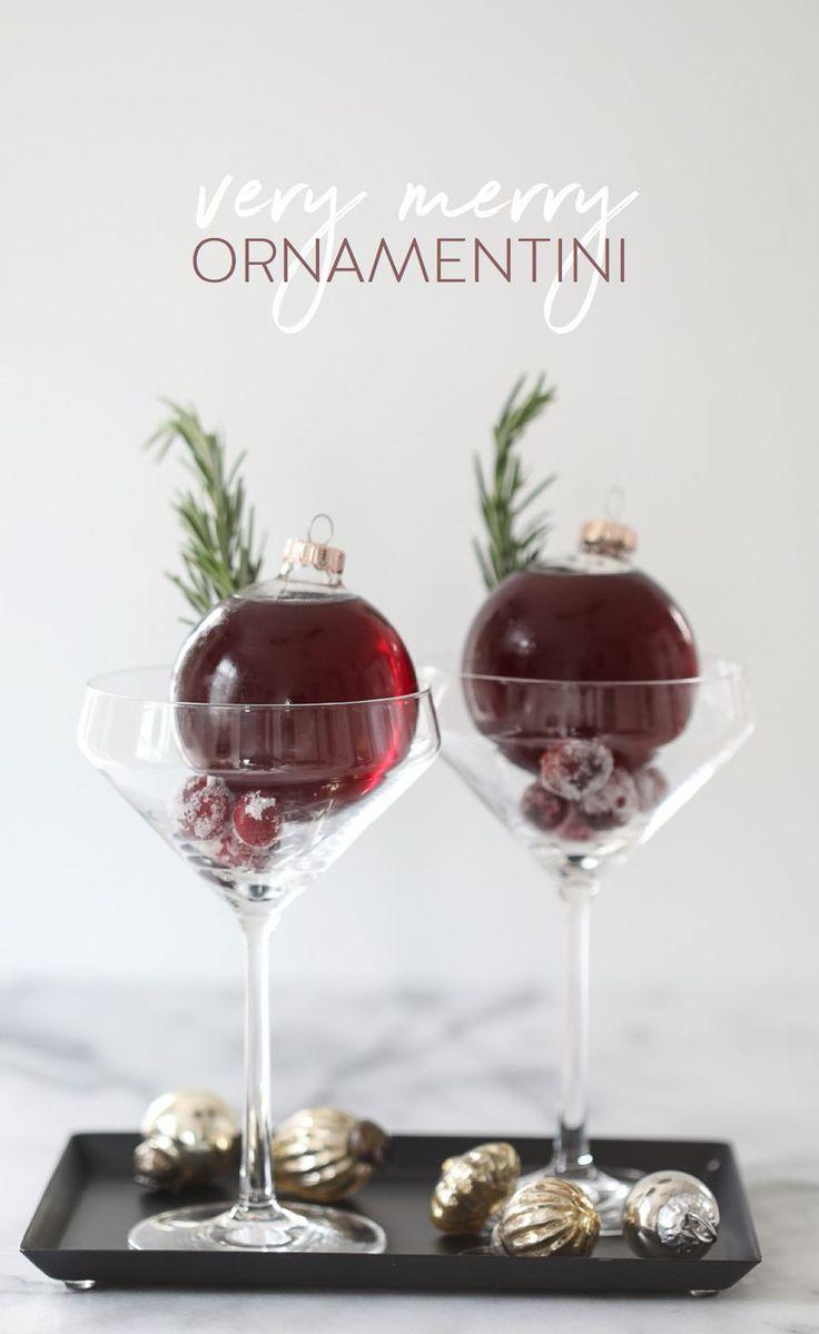 Very Merry Ornamentini from @inspiredbycharm
