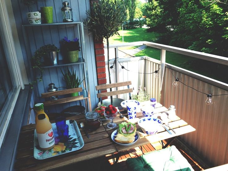 #balcony #homedecor #outdoor #dining #breakfast #light #juice