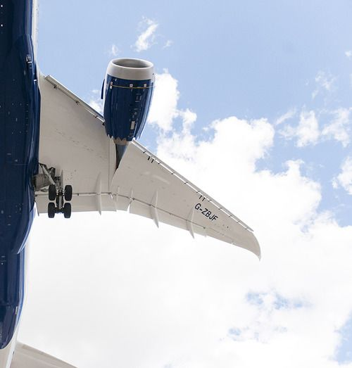 British Airways Boeing 787-8 Dreamliner G-ZBJF, July 2014. (Photo via Tumblr: Laird Kay)