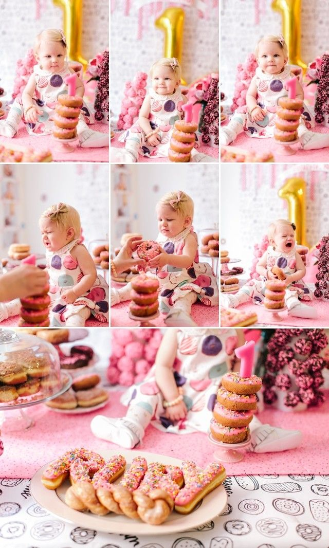 First Birthday Donut Party by Meg Ruth Photo #nationaldonutday